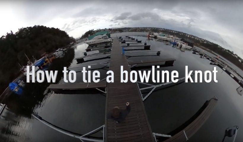 How to tie a bowline knot. Den er sikker, rask å slå og lett å få opp – som gjør løkkeknuten pålestikk genial for ethvert behov.